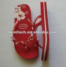 2012 women's rhinestone flip flops