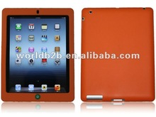 chocolate bean silicon Case Cover for new ipad