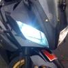 Solo para la motocicleta HID de xenon faros Bi lente del proyector con ojos de angel