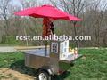 Chariot RC-HDC-02 de hot-dog et de vente de boissons