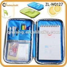 Cheap nylon travel wallet bag organizer