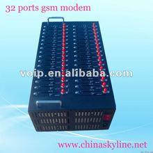 32 ports gsm modem,support bulk sms/mms,EDGE(Q24plus-32)