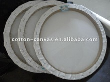 17mm thickness Round MDF Stretched canvas