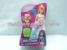 new kids toys for 2012 celeb model beauty plastic doll