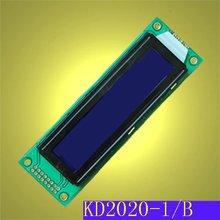 20x2 character blue LCD module