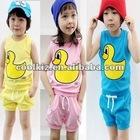 2012 new design children's clothing set child cloth kid\s clothing set
