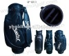 Desiger quality leather golf cart bag customized golf bag