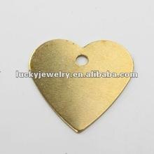 heart-shaped cooper embelishments pendant
