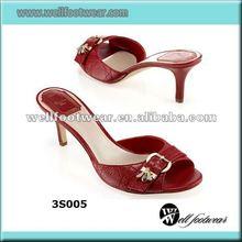High-heeled Mules Women