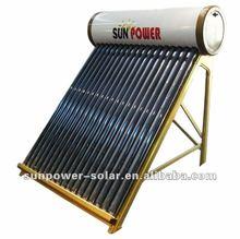 progetto del collettore solare riscaldatore di acqua solare di pressione non ce SABS solar keymark srcc certificazione SABS