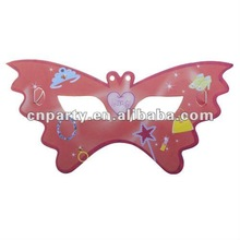 Hot selling party eye mask,butterfly design party masks