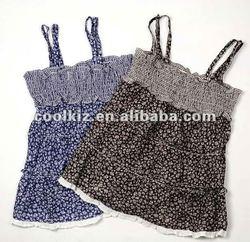 2012 new design lovely girls' dresses for summer baby dress pictures