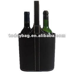 Tote 2-Bottle Soft Felt Wine Rack Holder Storage Bag YBS-WB049