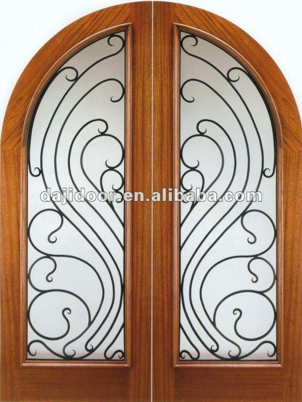 Arco franc s doble interior puertas dise o dj s9052mwr - Arcos de madera para puertas ...