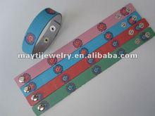 2012 NEW colored bracelets& jewelry fashion