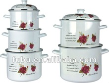enamelware pot with lid,20-26cm