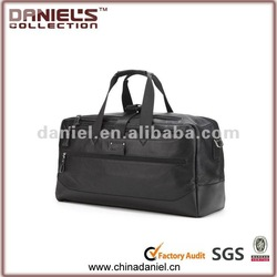 2012 new design genuine leather travel bag