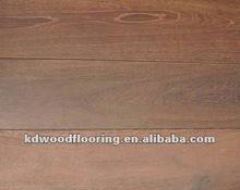 Wire brused Carbonized brushed white oak multi layer engineered smoked wood flooring