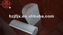 customized high heat dissipation extruded aluminum LED heatsink housing