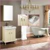 Floor standing Oaken Bathroom Vanities
