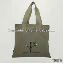 hot sale popular plain cheap canvas bags