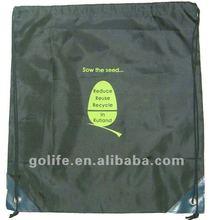 2012 High quality 100 silk drawstring bags