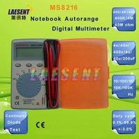 4000 counts, Notebook type Autorange Thin Digital Multimeter MS8216