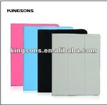 PU&leather case for the new ipad