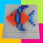 Ironing fuse hama plastic beads