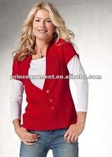 crisscross button detail fashion sweater 2012