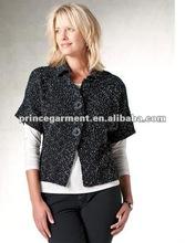dolman sleeves marled button cardigan fashion sweater 2012