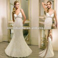 Sweetheart Neckline,Glamorous Figure-hugging Lace Wedding Dress