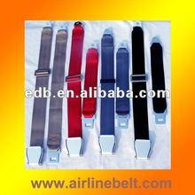 Top Luxury armchair seat belt, airplane seatbelt style