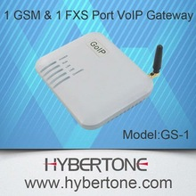 One GSM Port with one FXS port VoIP Gateway GS-1