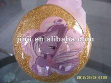 Hot plastic glitter decoration ball