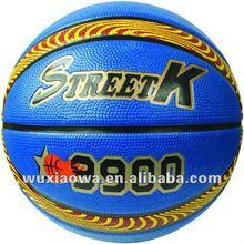 Foam and emboss logo ball/ sponge rubber soft basketball / power grip ball(FRB017)