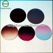 Color lenses, sunglass lens