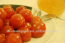 canned cherry tomato in pear juice and osmanthus sauce
