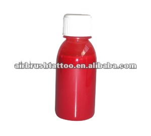 Prova de gua com base de lcool airbrush tinta de for Do airbrush tattoos come off in water