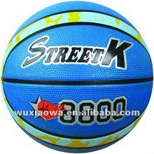 Good design balls / Grip power and emboss logo 12 panels basketball / hot sales rubber basketball(GRB008)