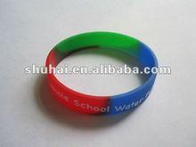 2012 Latest Design Funny Silicone Rubber Wristband