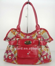 2012 excellent manufacturer new imitate woven lady bag