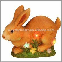 Popular ceramic rabbit garden decoration