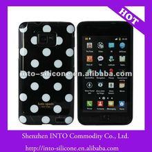 Black White Polka Dot Case For Samsung i9100