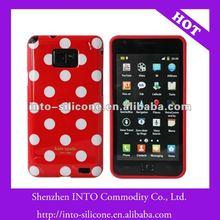 Red White Polka Dot Case For Samsung i9100