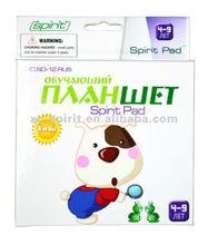 Spirit Pad Creativity App in Russian:ebook and educational game cartridge SD-12RUS