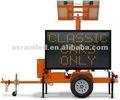 Led do painel ao ar livre de alta definição vms solar digital signage publicidade led display digital bordo