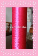 polyester yarn dty a grade and aa grade red