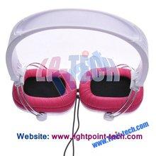 2012 wholesale cheap fashion cartoon headphone with microphone