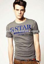 summer fashionable and stylish style of cotton slim t-shirts